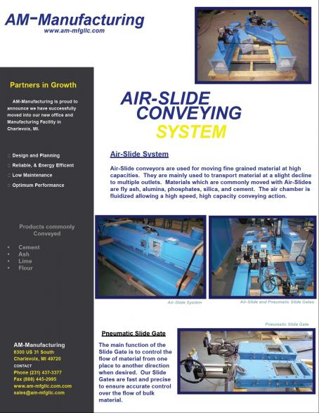 Air-Slide Brochure and Gates